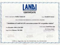 AutoGas sertifikat